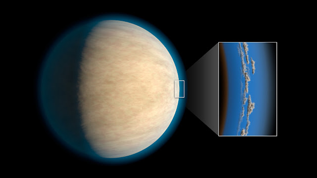 Cloudy days on exoplanets may hide atmospheric water