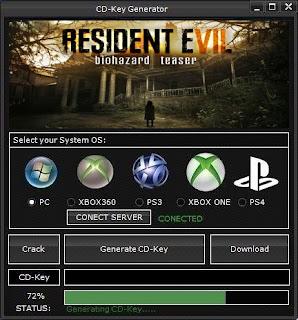 RESIDENT EVIL 7 biohazard CD Key Generator (Free CD Key)