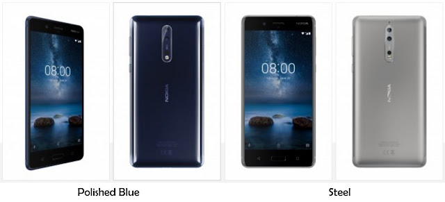 Warna Nokia 8