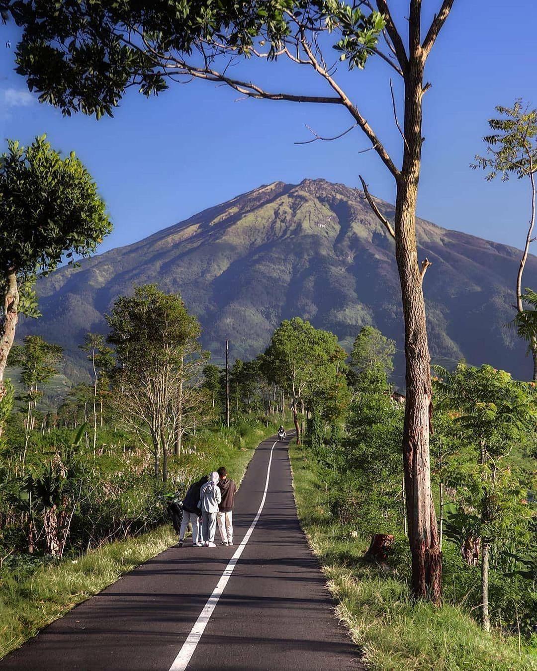 PEmandangan gunung nepal van java