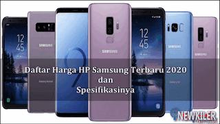 Daftar Harga Hp Samsung Terbaru Dan Spesifikasinya Update Januari 2020 Kaskus
