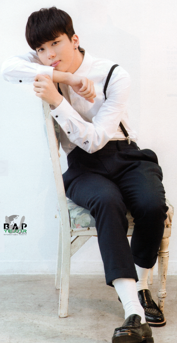 BYS: B.A.P for February edition of Hanako magazine