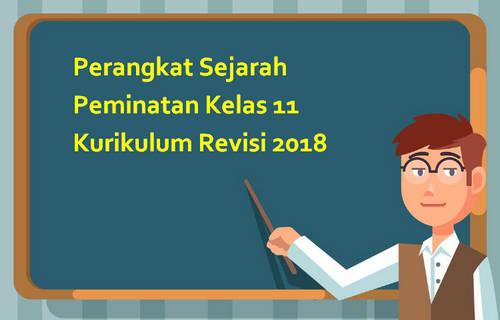 Perangkat Sejarah Peminatan Kelas 11 Kurikulum Revisi 2018
