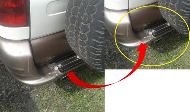 Awas! Modus baru perampokan dengan menaruh koin di belakang mobil
