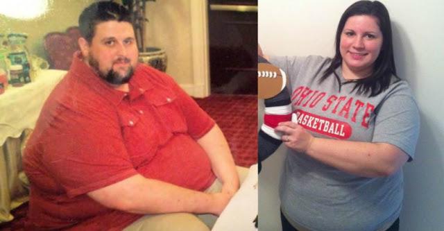 Ένα ζευγάρι αποφάσισε να χάσει όσα πιο πολλά κιλά γίνεται! Το αποτέλεσμα; ΣΥΓΚΛΟΝΙΣΤΙΚΟ!