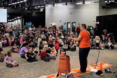 Saskatoon Family Expo Singing with Sylvia