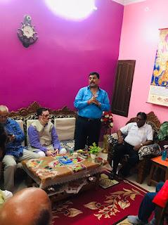 अखिल भारतीय कायस्थ महासभा के प्रांतीय महासचिव राकेश ने किया पूर्वांचल दौरा | #NayaSaberaNetwork
