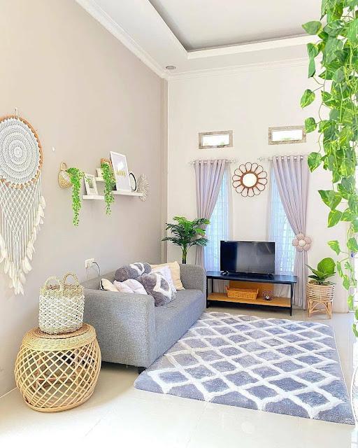 Desain Ruang Tamu Sederhana tapi Elegan Terbaru