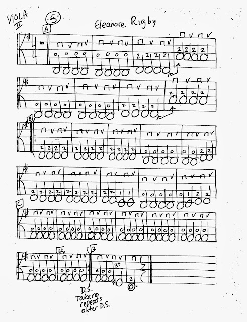 Miss Jacobson's Music: ELEANOR RIGBY WORKSHEETS