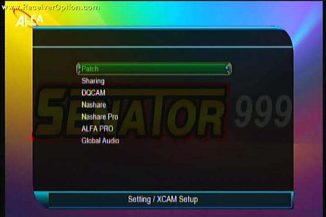 SENATOR 999 1507G 1G 8M NEW SOFTWARE WITH ALFA PRO & GLOBAL AUDIO OPTION