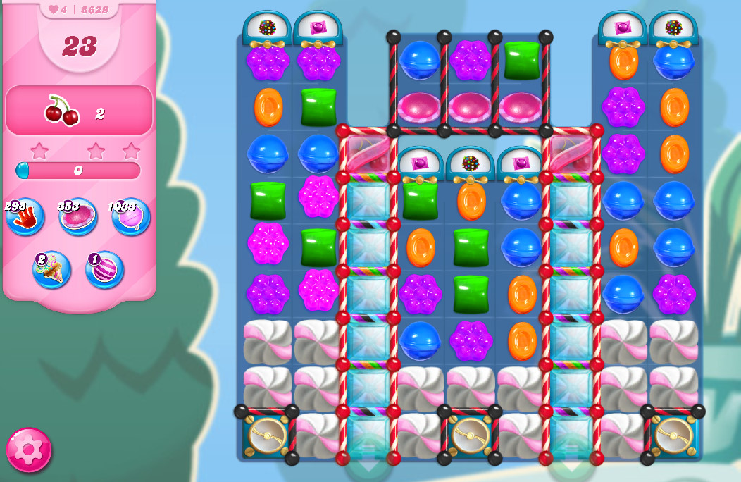 Candy Crush Saga level 8629