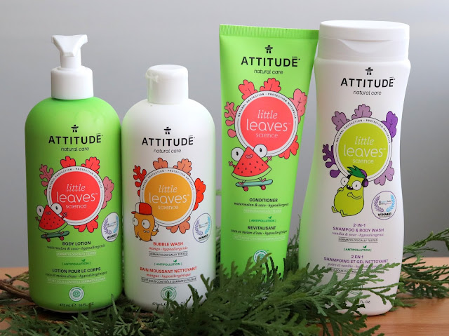 attitude little leaves body care