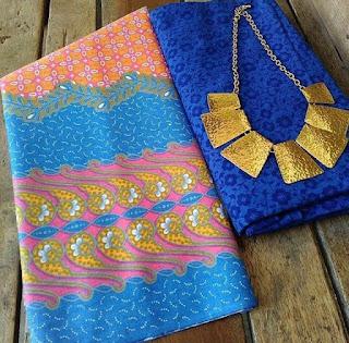Kain Batik dan Embos 015 Pekalongan Biru