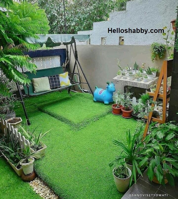 6 Inspirasi Desain Taman Minimalis Belakang Rumah Manfaatkan Sisa Lahan Helloshabby Com Interior And Exterior Solutions