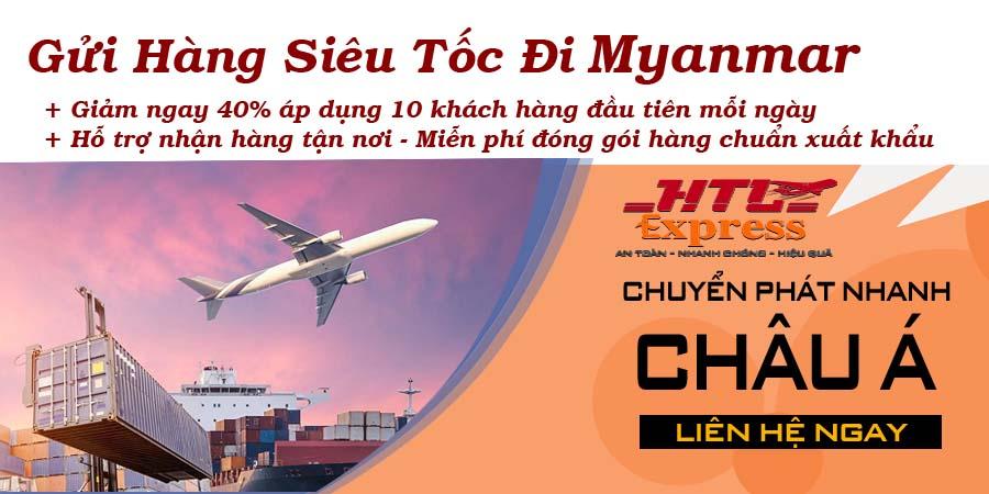 gửi hàng siêu tốc đi Myanmar