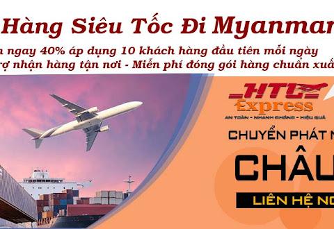 Chuyển phát nhanh đi Myanmar