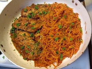 One Pan Sweet Potato Spaghetti with Chicken Breast (paleo, gluten-free, dairy-free, whole30, keto, grain-free).jpg