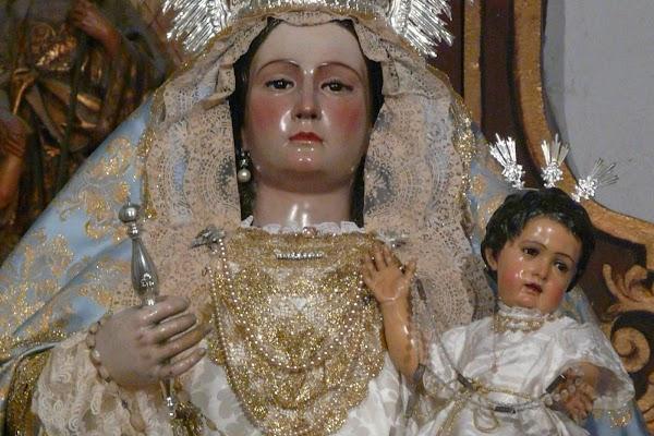 Horario e Itinerario Salida Procesional  Virgen del Rosario. Málaga 16 de Octubre del 2021