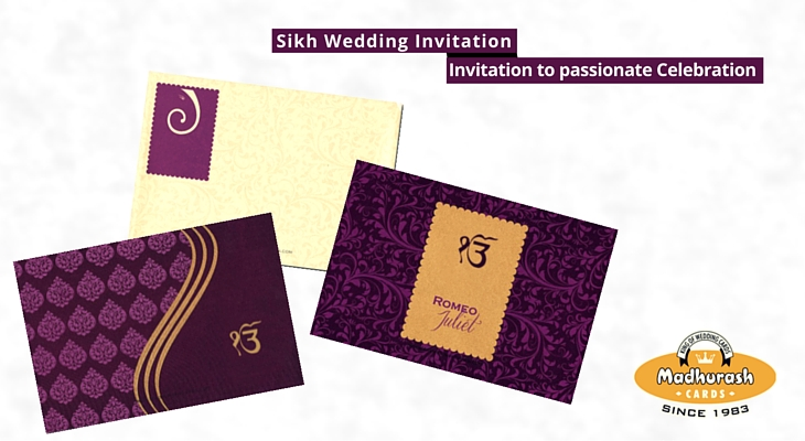 Amazing Sikh Wedding Cards Invitation To Passionate Celebration My Hairstyles For Men Maxibearus