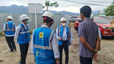 Arif Pramudya saat berkunjung ke PT Samator Gas Industri