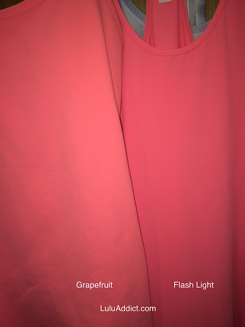 lululemon grapefruit-flash-light
