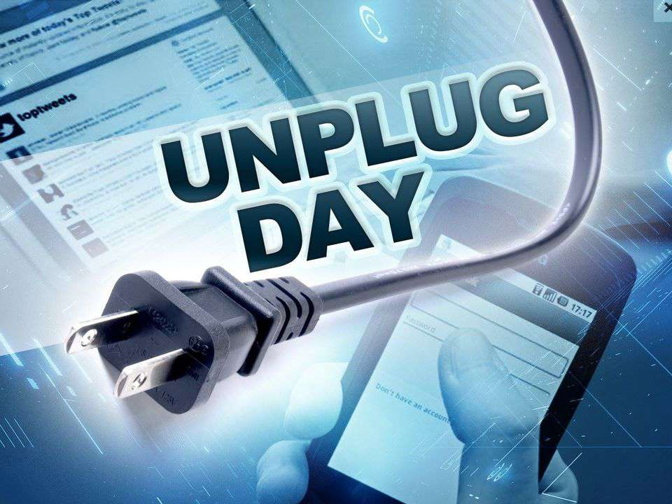 National Day of Unplugging Wishes Pics