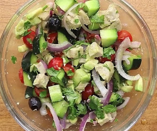 Homemade weight loss salad recipe
