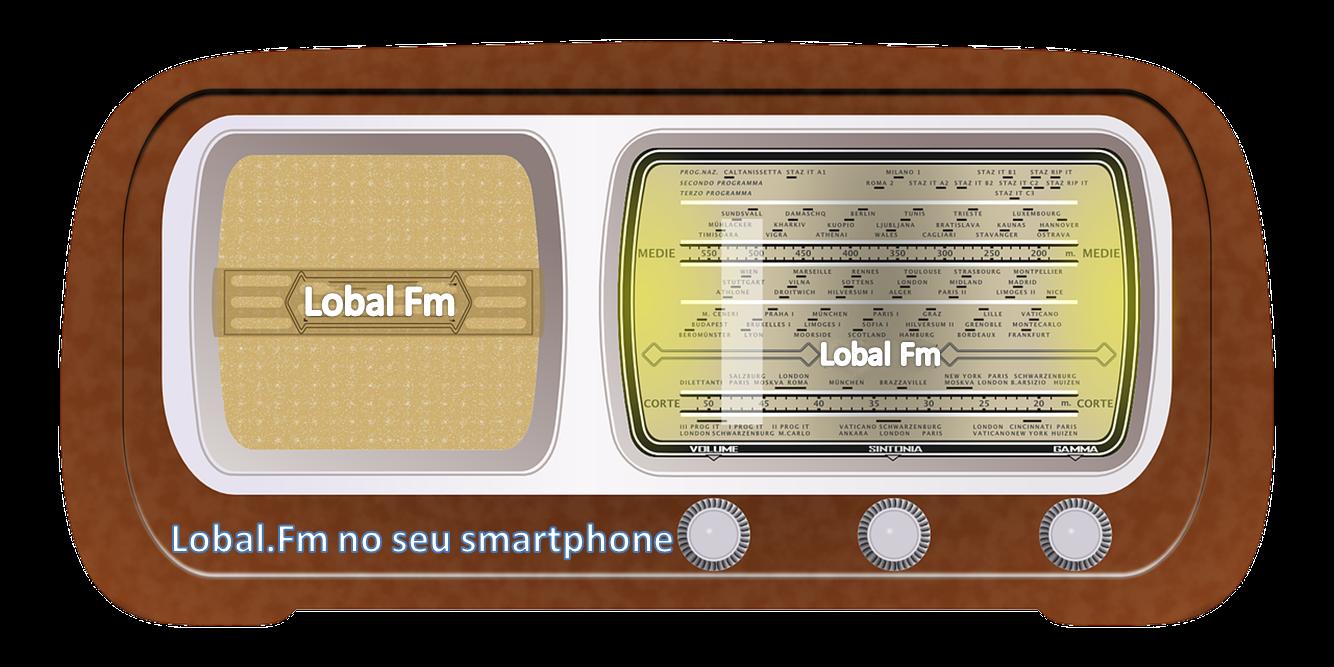 Ouça nossa rádio em seu smartphone ou tablet