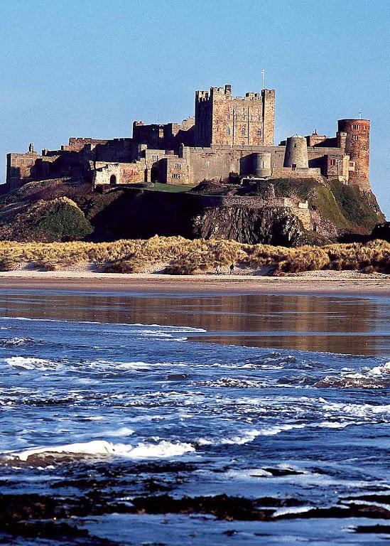 Castelo de Bamburgh, dos antigos reis da Nortumbria