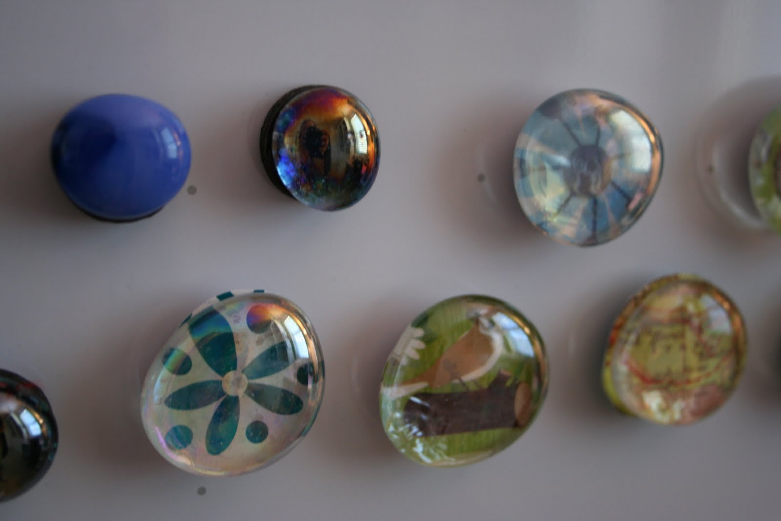 Easy Kid Craft: Homemade Magnets. ""