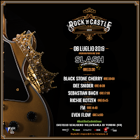 FM at Rock The Castle, Verona - 6 July 2019