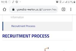 Tahapan Tes Rekrutmen PT Yamaha Motor Manufacturing Indonesia Lengkap