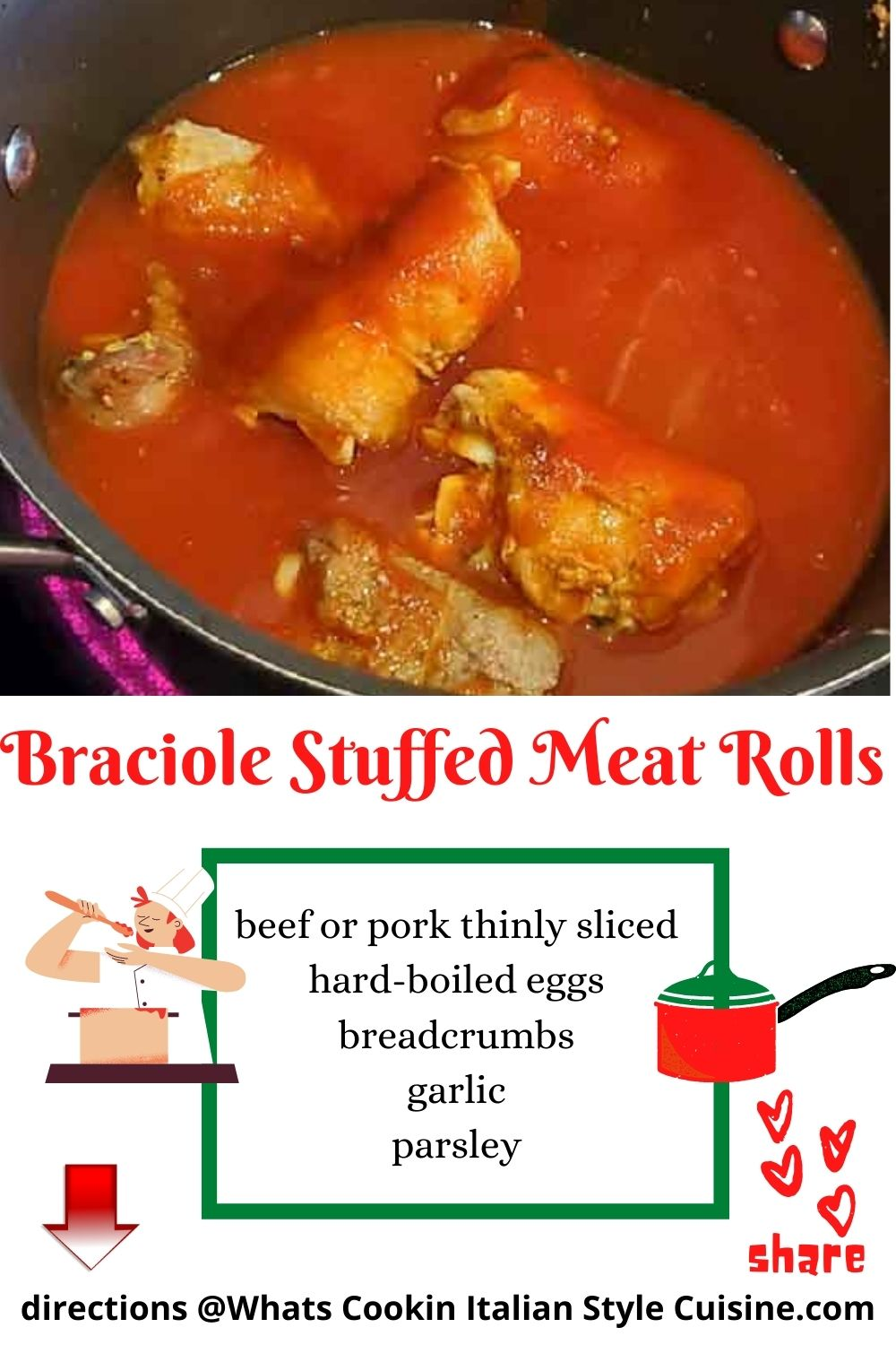 pin for later braciole