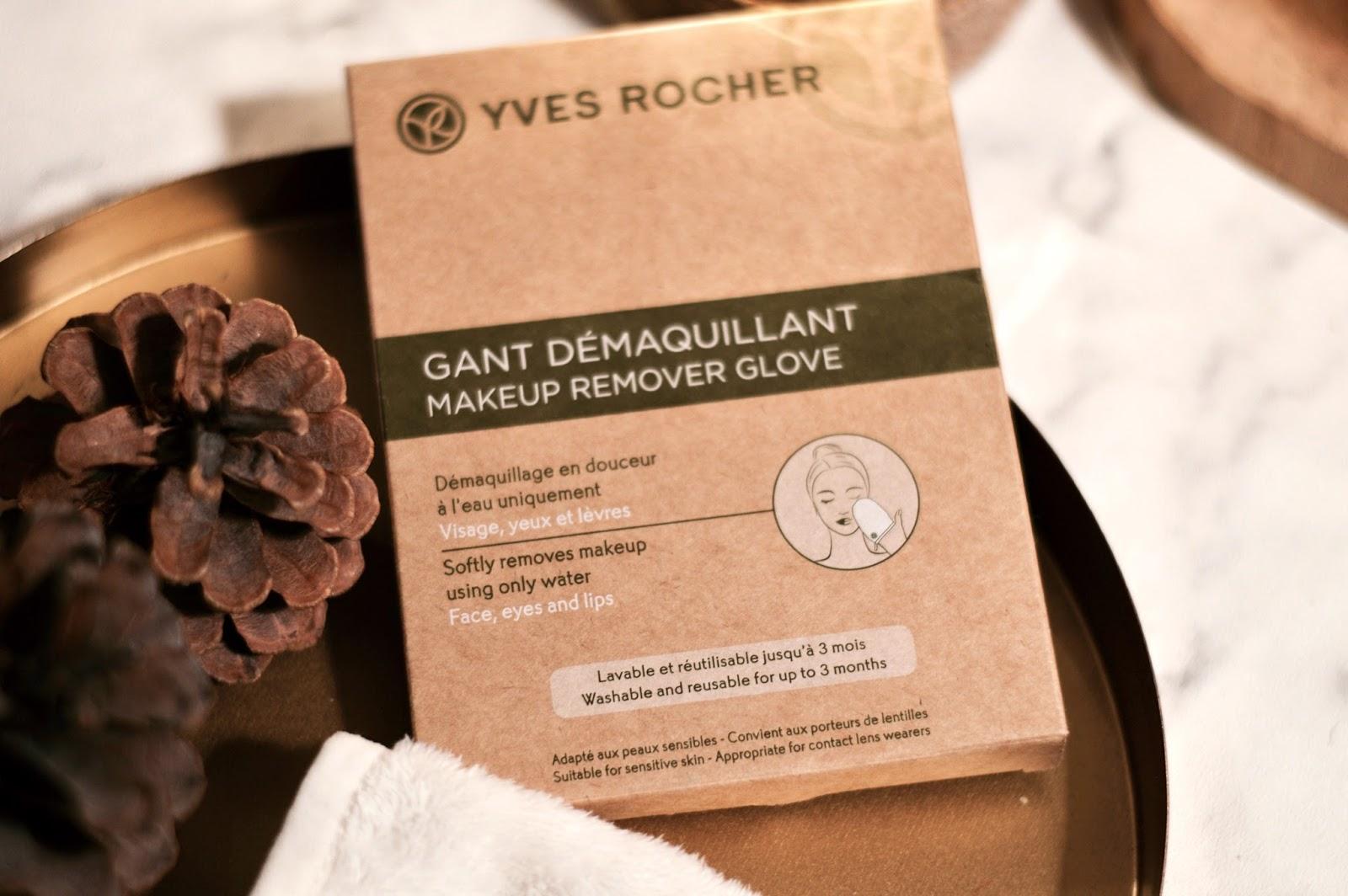 zéro déchet : gant démaquillant lavable yves rocher