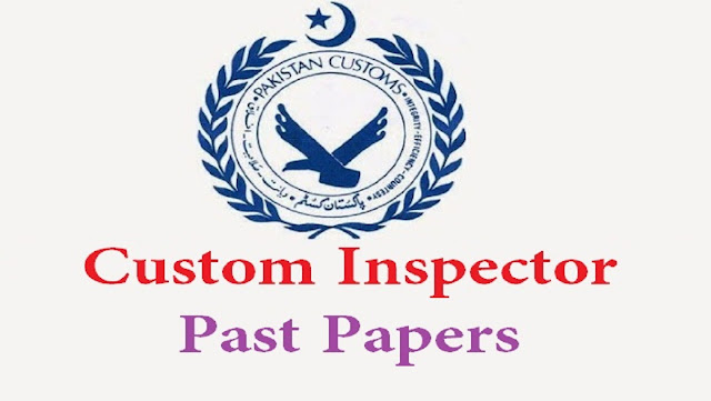 Past Papers of Customs Officer 2019