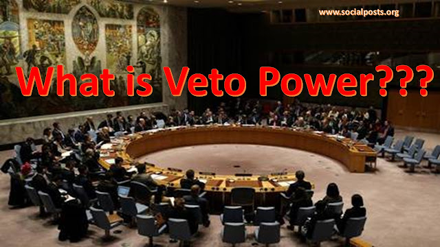 How many countries have veto power in UNSC?
