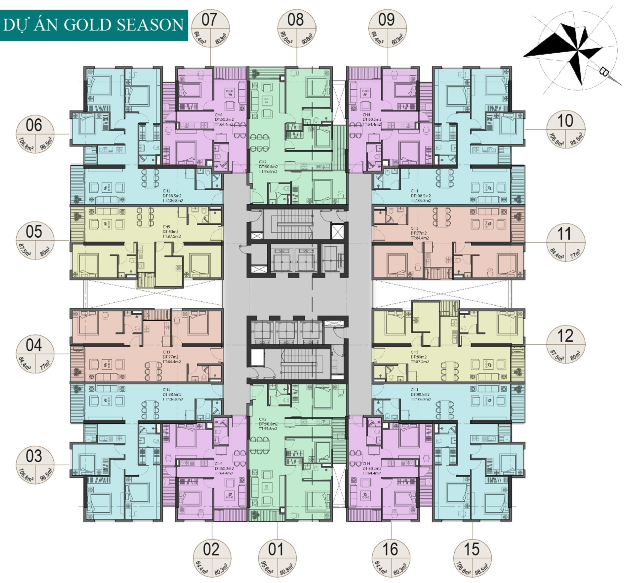 thiết kế căn hộ 47 nguyễn tuân