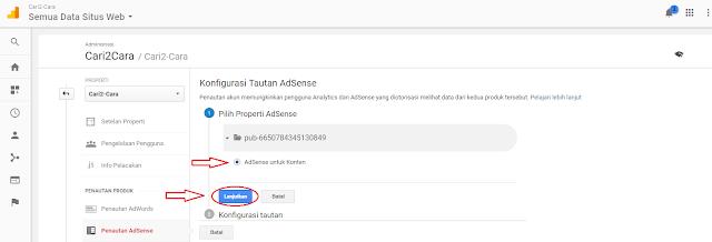 Cara Menautkan Akun Adsense Dengan Google Analytics Cara Menautkan Akun Adsense Dengan Google Analytics
