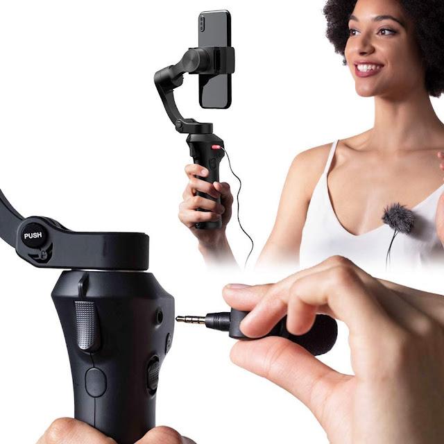 Snoppa Atom 3-Axis Foldable Pocket-Sized Handheld Gimbal Stabilizer