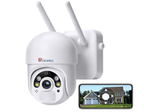 Ctronics S20-J Wireless Outdoor Security Camera