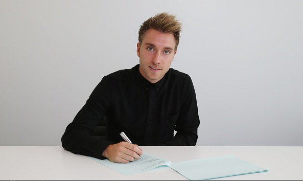 Christian Eriksen pens new Spurs deal