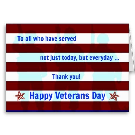 Veterans Day card + happy Veterans Day 2016 card ecard clipart printable