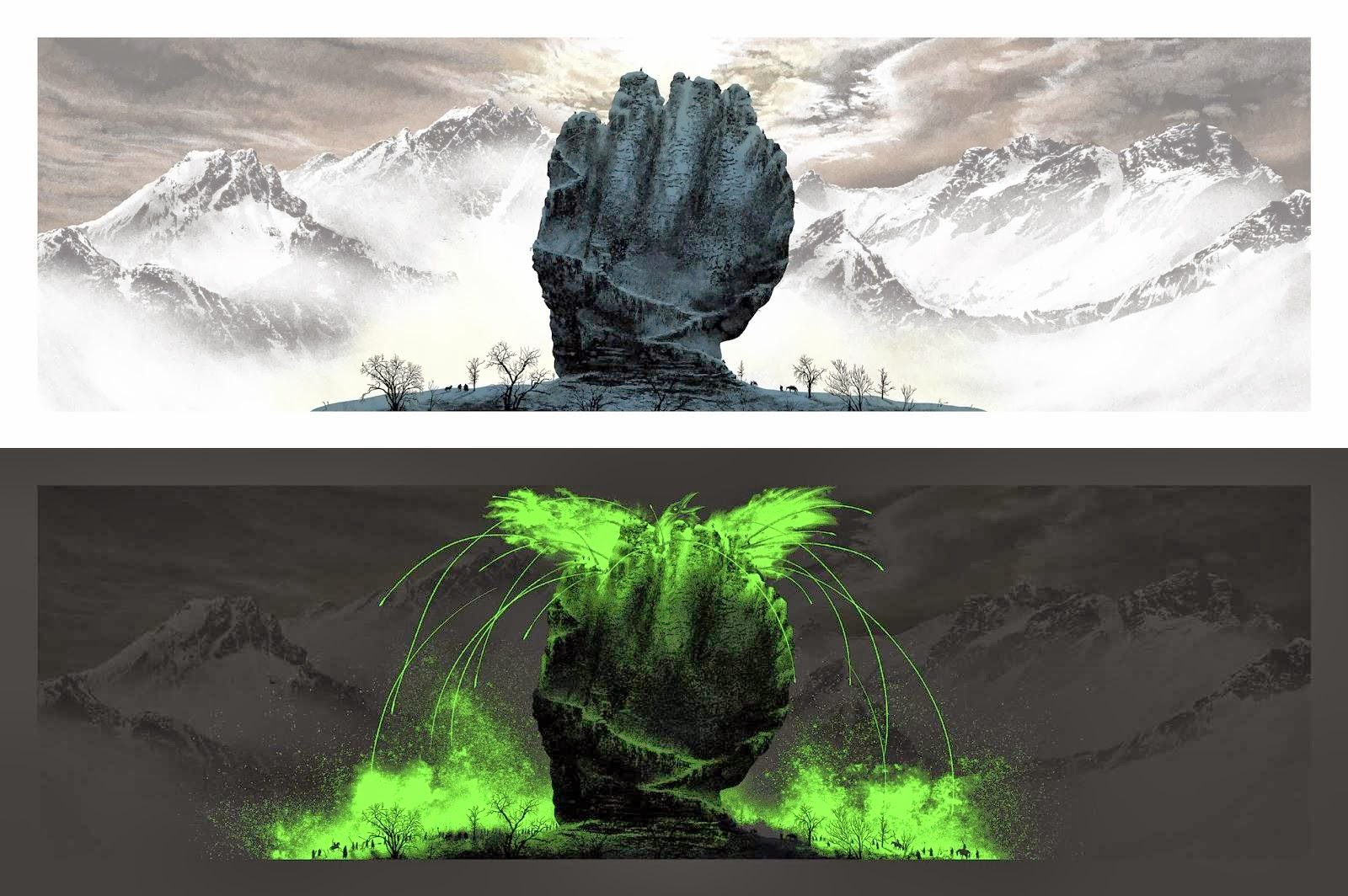 """Fist of the First Men"" Game of Thrones Screen Print by Mark Englert"