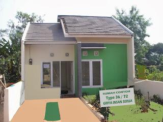 Gambar Desain Dan Harga  Rumah Minimalis Sederhana Type 36