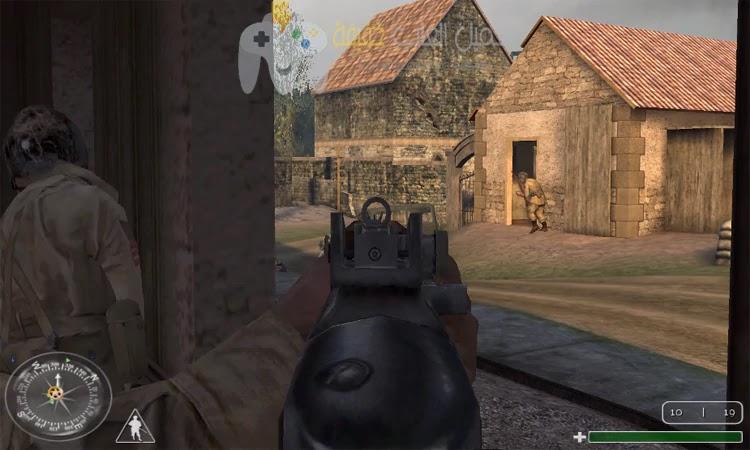 تحميل لعبة Call of Duty 1 للكمبيوتر من ميديا فاير بحجم صغير