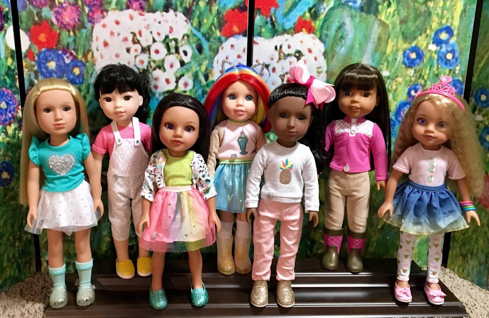 New Found Fashions from Sparkle Girlz - dolly girl iris