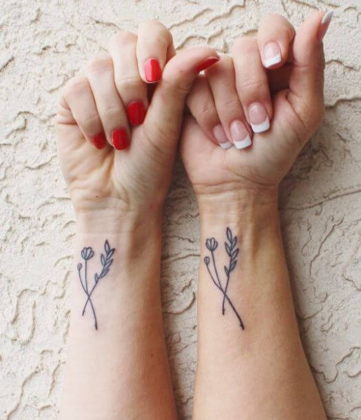 cute Mother Daughter Tattoos