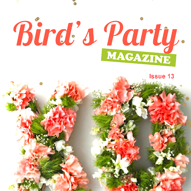 Bird's Party Ideas Magazine | Summer 2015 Out Now