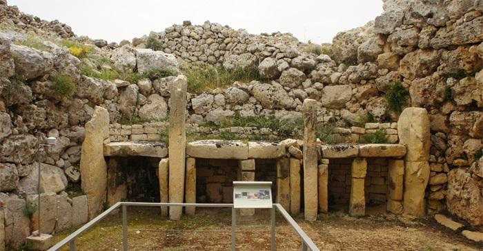 Templo de ggantija em Malta