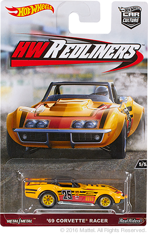 hot wheels corvette racer redliners 2017